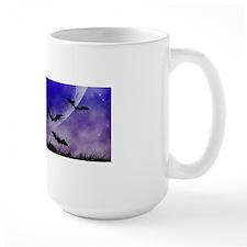 Purple Night Moon Mugs