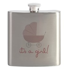 Its A Girl Flask