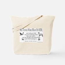 Christian Scripture Tote Bag