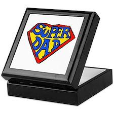 Superdad Keepsake Box