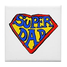 Superdad Tile Coaster