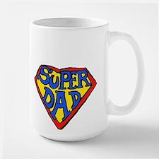 Superdad Large Mug
