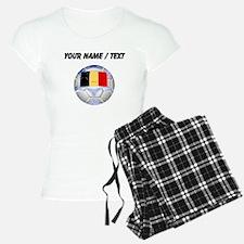 Custom Belgium Soccer Ball Pajamas