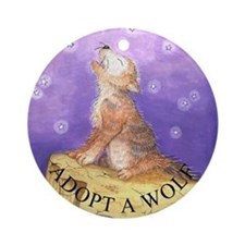 Adopt a Wolf Christmas Ornament