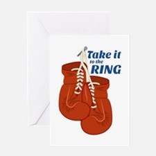 Take it To The RINK Greeting Cards