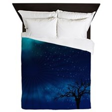 Blue Moon Night Queen Duvet