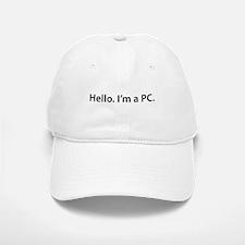 Hello. I'm a PC Baseball Baseball Cap