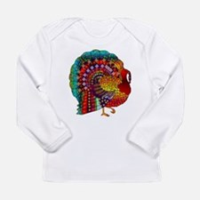 Thanksgiving Jeweled Turkey Long Sleeve T-Shirt