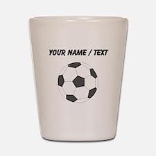 Custom Soccer Ball Shot Glass