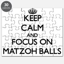 Keep Calm by focusing on Matzoh Balls Puzzle