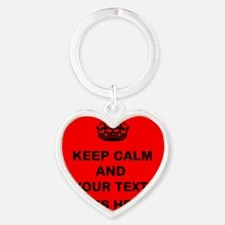 Keep calm and Your Text Keychains