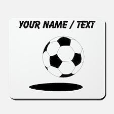 Custom Soccer Ball With Shadow Mousepad