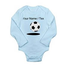 Custom Soccer Ball With Shadow Body Suit