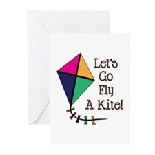 Fly a Kite Greeting Cards