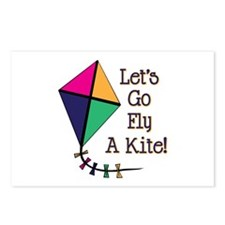 Fly a Kite Postcards (Package of 8)