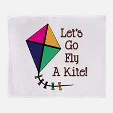 Fly a Kite Throw Blanket