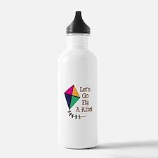Fly a Kite Water Bottle