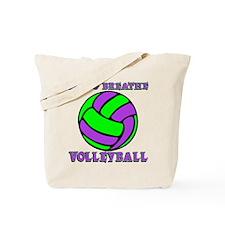 LIVE, BREATHE VB Tote Bag