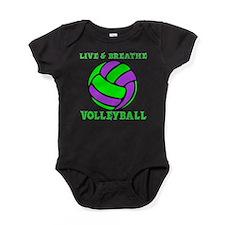 LIVE, BREATHE VB Baby Bodysuit