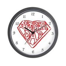Superdad Wall Clock