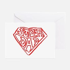 Superdad Greeting Cards (Pk of 10)