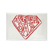 Superdad Rectangle Magnet