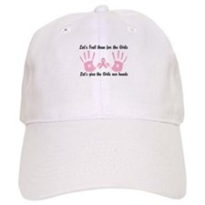 Breast Cancer is a Hands on Thing Baseball Cap