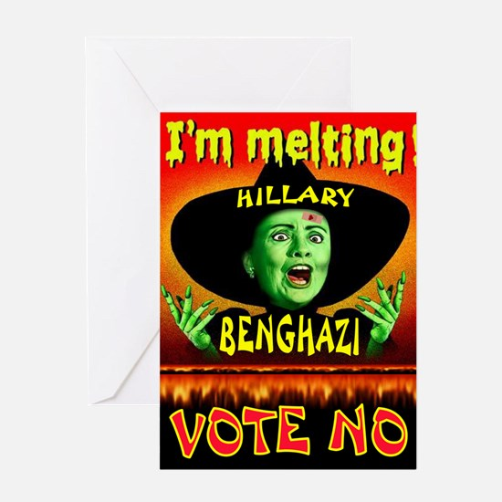 HILLARY WITCH Greeting Cards