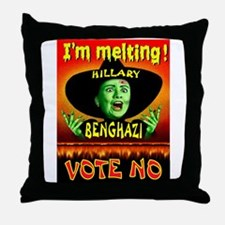 HILLARY WITCH Throw Pillow