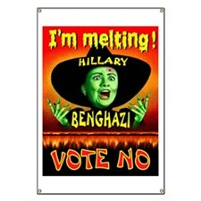 Hillary Witch Banner