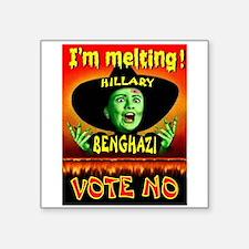 Hillary Witch Sticker