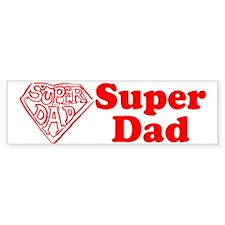 Superdad Bumper Bumper Sticker