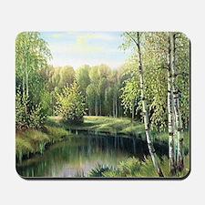 Woodland Painting Mousepad