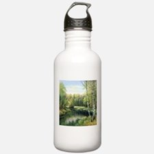 Woodland Painting Water Bottle