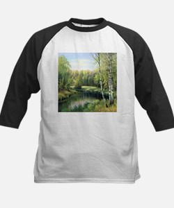Woodland Painting Baseball Jersey