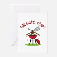 Tailgate Team Greeting Cards