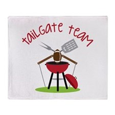 Tailgate Team Throw Blanket