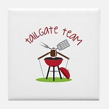 Tailgate Team Tile Coaster