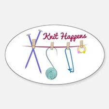 Knit Happens Decal