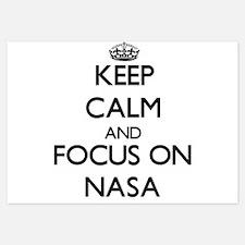 Keep Calm by focusing on Nasa Invitations