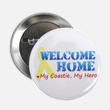 Welcome Home - My Coastie Button