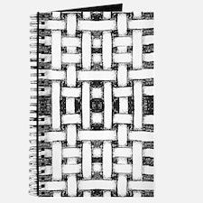 Hand drawn weave design Journal