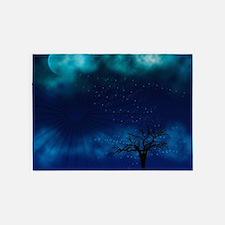 Blue Moon Night 5'x7'Area Rug