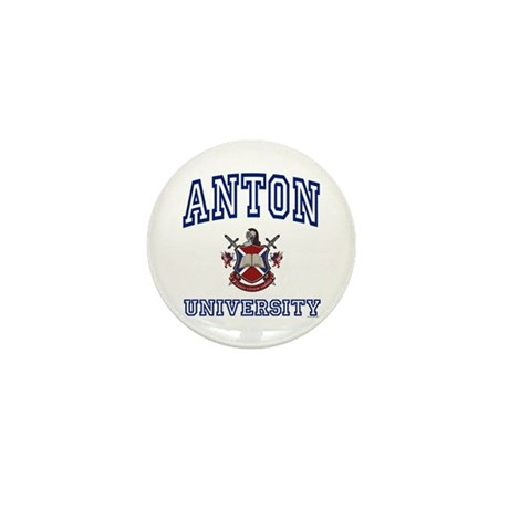 ANTON University Mini Button (100 pack)