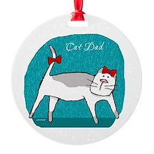 Cat Dad Ornament