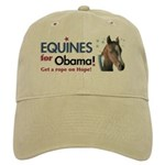 Equines for Obama Cap
