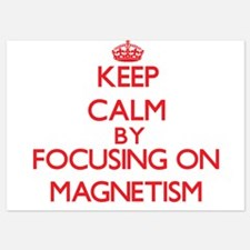 Keep Calm by focusing on Magnetism Invitations