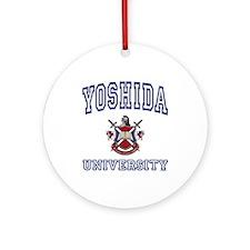 YOSHIDA University Ornament (Round)