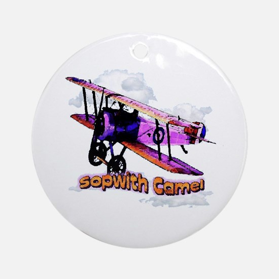 Sopwith Camel  Ornament (Round)