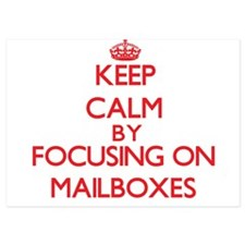 Keep Calm by focusing on Mailboxes Invitations